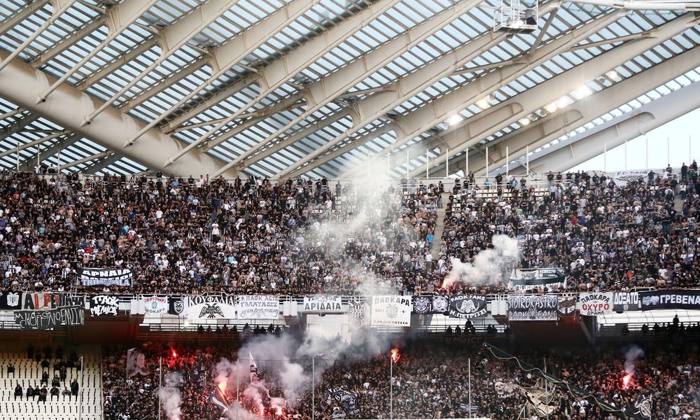 Τελικός Κυπέλλου: Νέο αιχμηρό πανό για την ΑΕΚ από τους οπαδούς του ΠΑΟΚ (photo)