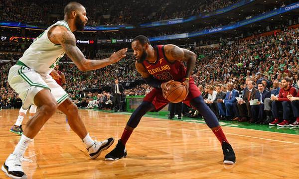 NBA: Οι Σέλτικς έκαναν εύκολα το 1-0 με Καβς (photos+video)