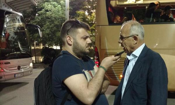 Κούδας στο Onsports: «Αυτό είπα στους παίκτες του ΠΑΟΚ πριν τον τελικό» (pics+vids)
