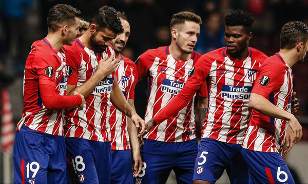 Europa League: Πλήρης στη Λιόν η Ατλέτικο