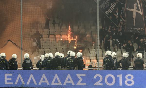 ΑΕΚ και ΠΑΟΚ απολογούνται την Παρασκευή για τα επεισόδια στον τελικό