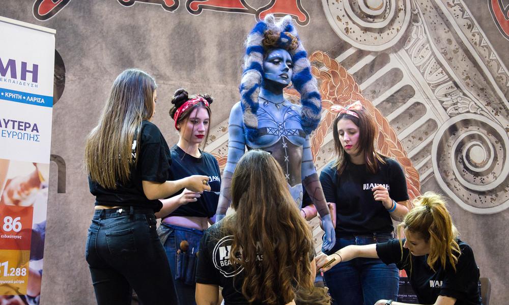 Το ΙΕΚ ΑΚΜΗ στα καλύτερα φεστιβάλ τατουάζ της Ευρώπης, το ATHENS INTERNATIONAL TATTOO CONVENTION