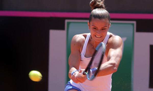 Τένις: Η Κέρμπερ σταμάτησε την Σάκκαρη