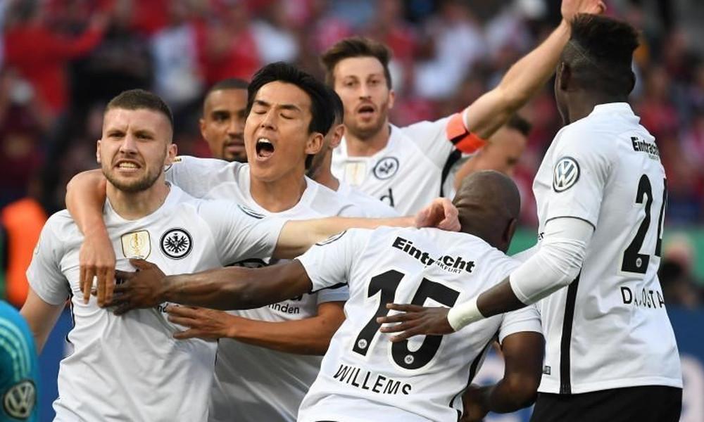 Ιστορικός θρίαμβος για την Αϊντραχτ και... Κύπελλο Γερμανίας