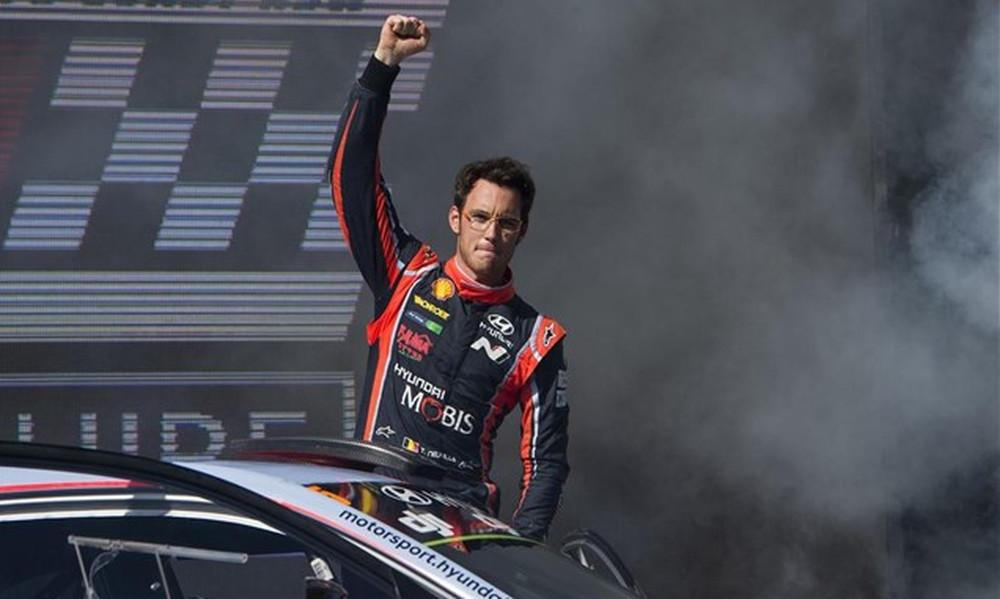 WRC: Θρίαμβος Νεβίλ στο Ράλι Πορτογαλίας