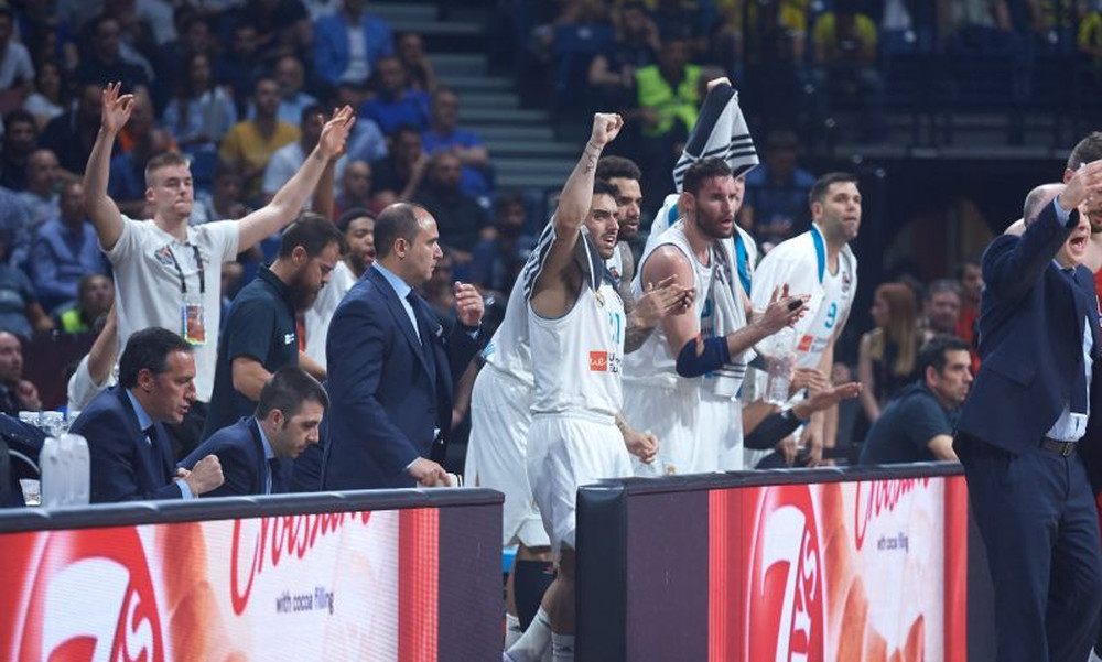 Final Four 2018: Έφτασε στη «Stark Arena» η Ρεάλ Μαδρίτης (video)