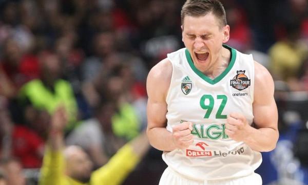 ΤΣΣΚΑ Μόσχας-Ζαλγκίρις Κάουνας 77-79: Με άμυνα στην τρίτη θέση