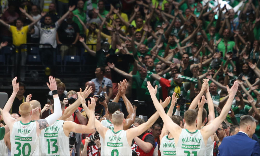 Final Four 2018: Αποθέωση για τη Ζαλγκίρις στο Βελιγράδι (video)