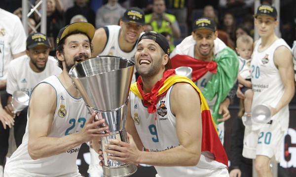 Final Four 2018: Η στιγμή που η Ρεάλ Μαδρίτης σηκώνει την κούπα (video)