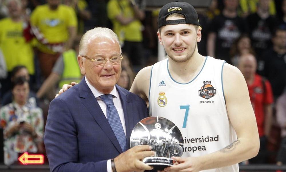 Λούκα Ντόντσιτς: Πήρε το βραβείο του MVP και… τον δρόμο του ΝΒΑ; (videos)