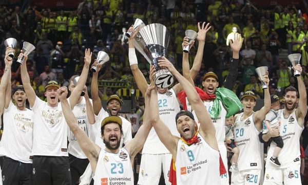 Euroleague: Τα συγχαρητήρια της Μπαρτσελόνα στη Ρεάλ Μαδρίτης! (photo)