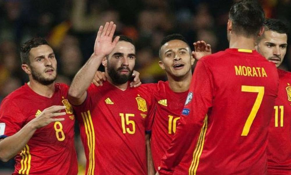 Μουντιάλ 2018: Με Ινιέστα η αποστολή της Ισπανίας για το Παγκόσμιο Κύπελλο