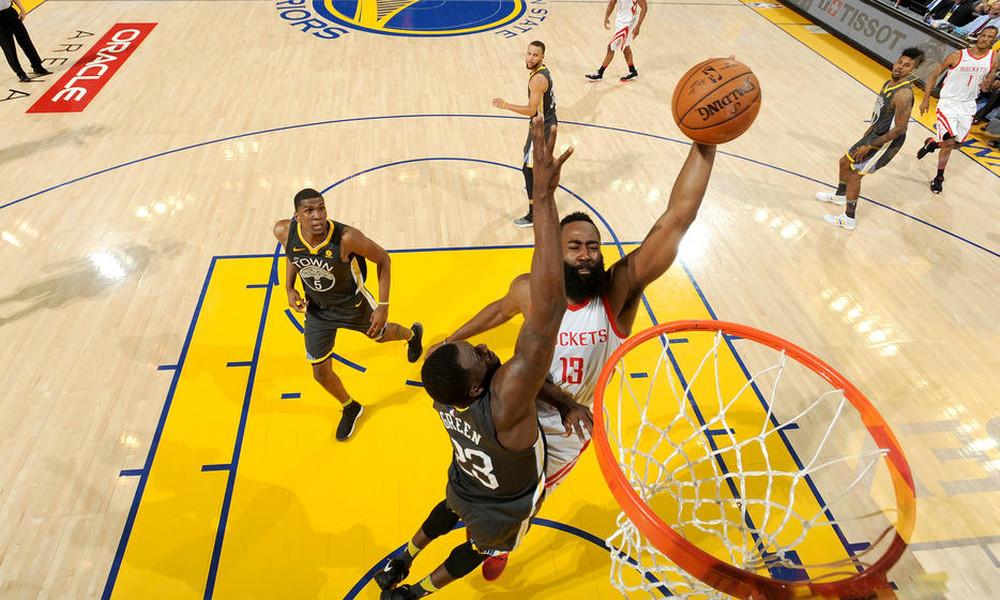 NBA: «Ζωντανοί» οι Ρόκετς, break στο Όκλαντ (photos+video)