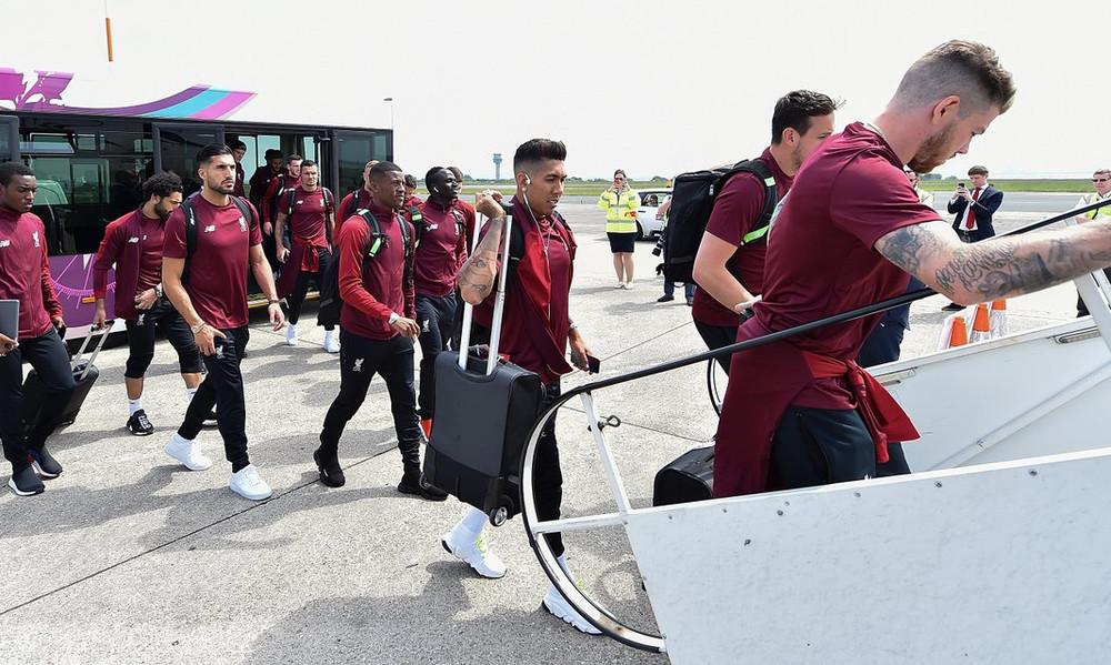 Λίβερπουλ: «Πέταξε» για Κίεβο η αποστολή του τελικού του Champions League (photos)