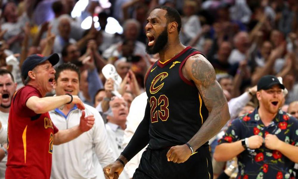 NBA: Η μυθική εμφάνιση ΛεΜπρόν στο Game 6 με Σέλτικς (video)