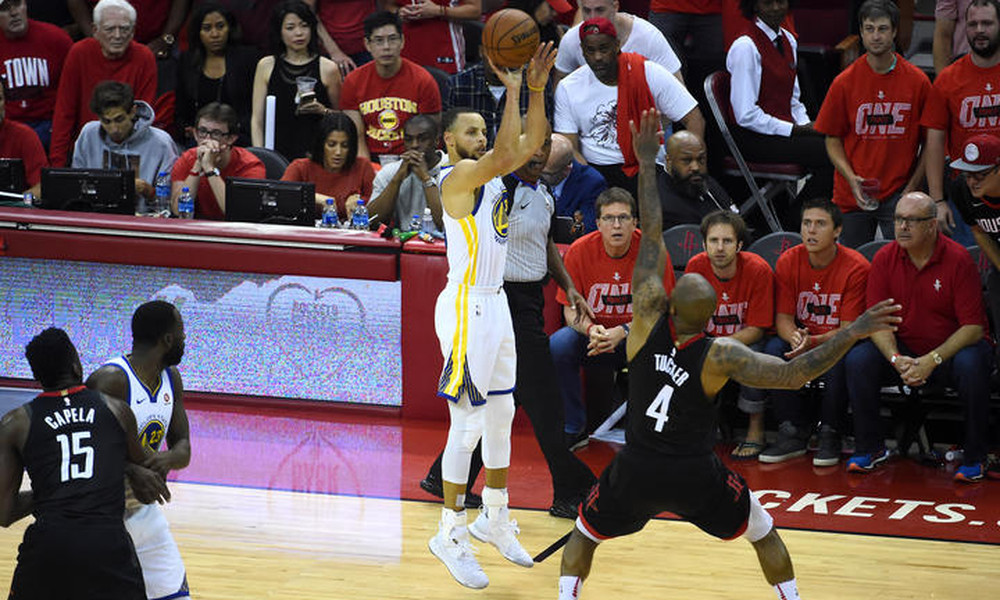 NBA: Πέρασαν από το Χιούστον και πάνε τελικούς οι Ουόριορς (photos+video)