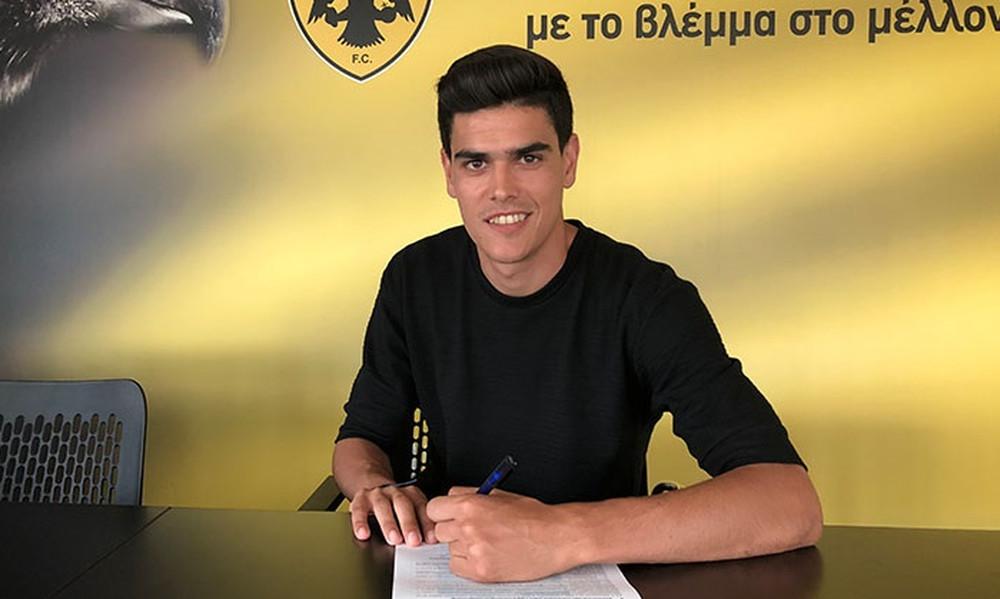 ΑΕΚ: Ανανέωσε ο Βασιλαντωνόπουλος