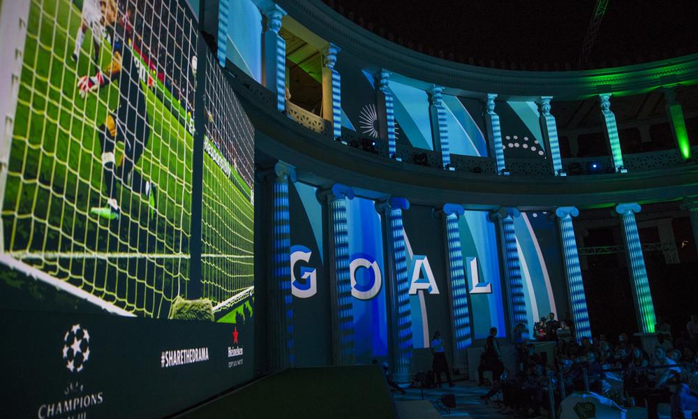 Για τρείς μέρες έκανε η Heineken® την Αθήνα την «Πόλη των Πρωταθλητών»