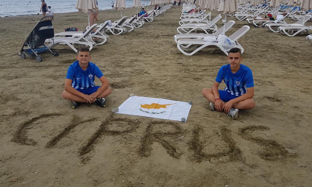 F4F: Έστειλαν μήνυμα για την προστασία του περιβάλλοντος οι Κύπριοι πρεσβευτές (photos)