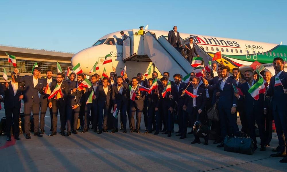 Παγκόσμιο Κύπελλο 2018: Το Ιράν έφτασε πρώτο στην Ρωσία (photos)