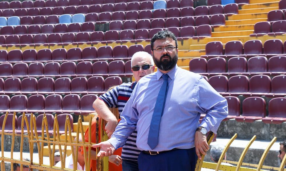 Βασιλειάδης: «Η κυβέρνηση κάνει παρεμβάσεις εκσυχρονισμού των αθλητικών εγκαταστάσεων»