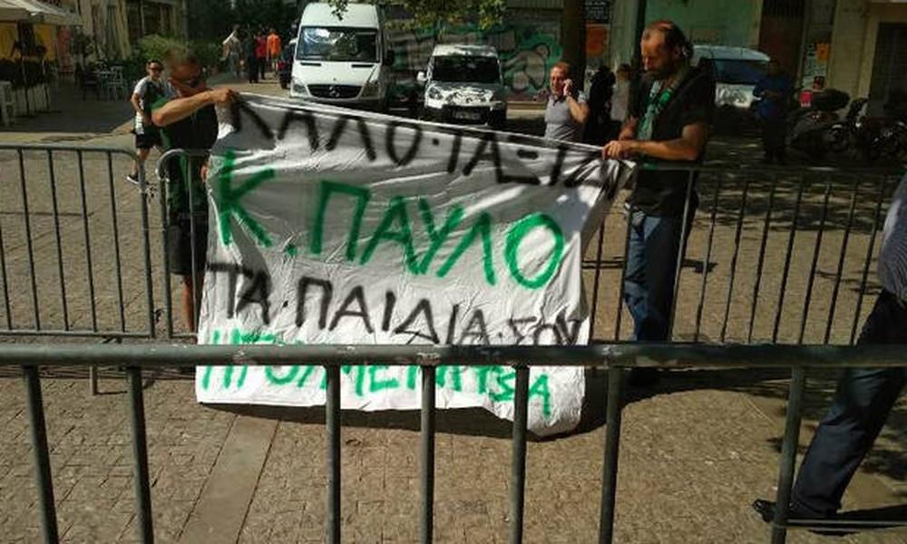 Από την Ηγουμενίτσα στη Μητρόπολη για το τελευταίο «αντίο» στον Παύλο Γιαννακόπουλου (photos+video)