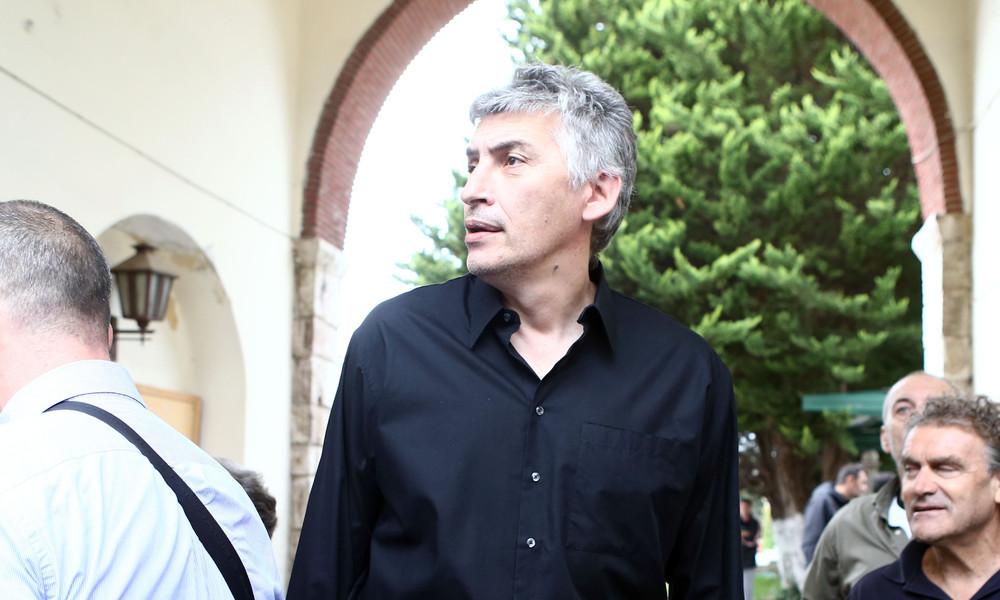Ο Φασούλας στο «τελευταίο αντίο» του Παύλου Γιαννακόπουλου (video)