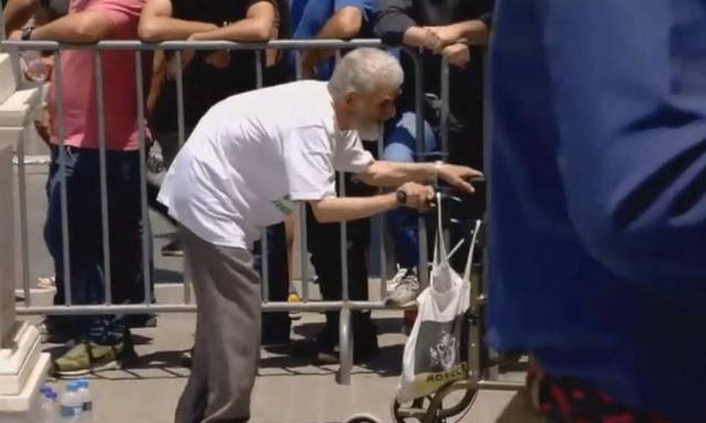 Παύλος Γιαννακόπουλος: Η συγκλονιστική στιγμή με τον ηλικιωμένο φίλαθλο του Παναθηναϊκού (video)