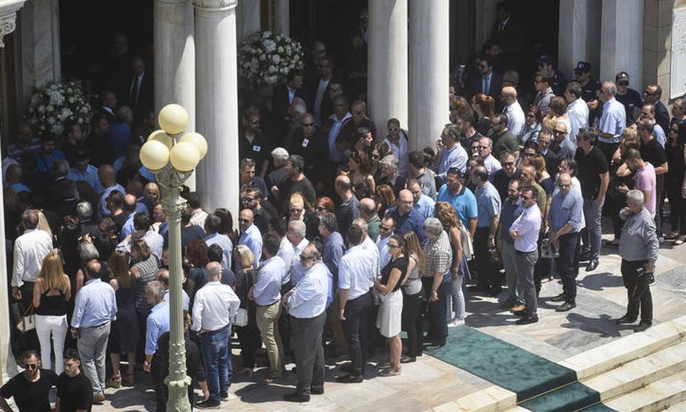 Παύλος Γιαννακόπουλος: Ολοκληρώθηκε η εξόδιος ακολουθία