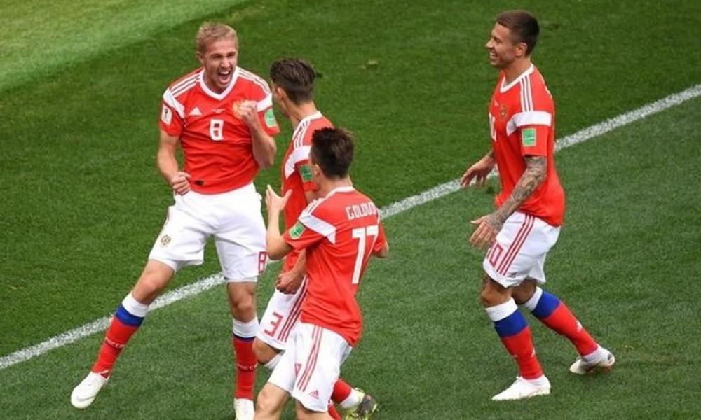 Παγκόσμιο Κύπελλο Ποδοσφαίρου 2018: Το πρώτο γκολ του τουρνουά από τη Ρωσία! (video)