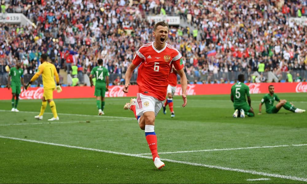 Παγκόσμιο Κύπελλο Ποδοσφαίρου 2018: Η «μαγική» στιγμή της πρεμιέρας (video)