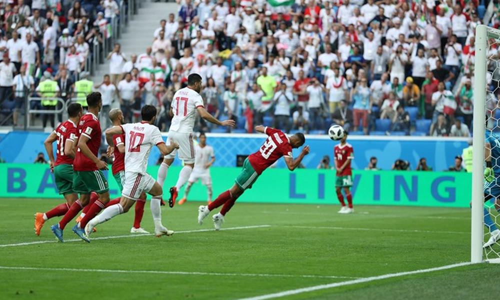 Παγκόσμιο Κύπελλο Ποδοσφαίρου 2018: Μαρόκο-Ιράν 0-1