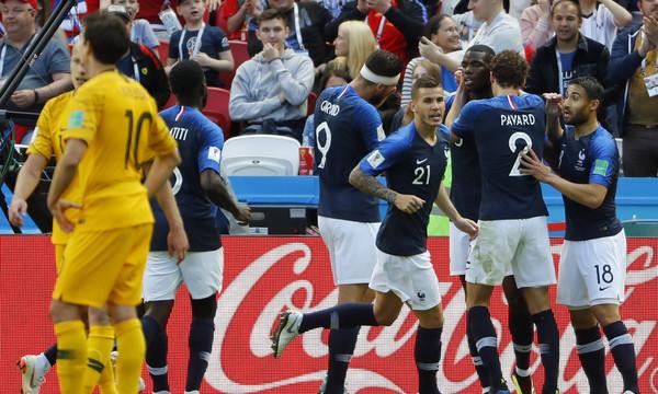 Παγκόσμιο Κύπελλο Ποδοσφαίρου 2018: Γαλλία - Αυστραλία 2-1 (photos)