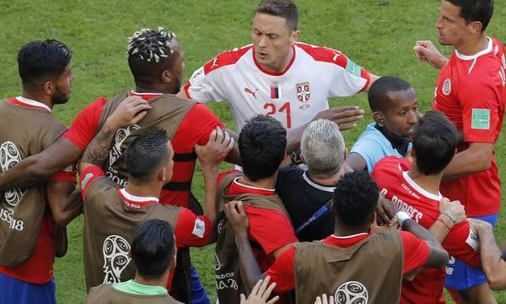 Παγκόσμιο Κύπελλο Ποδοσφαίρου 2018: Επεισόδιο με Μάτιτς (video)