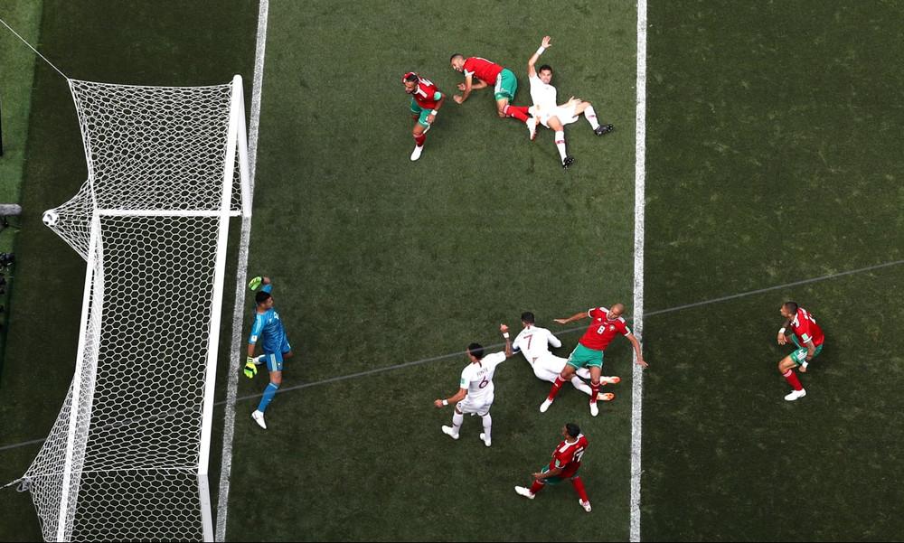 Παγκόσμιο Κύπελλο Ποδοσφαίρου 2018: Η κεφαλιά… οβίδα του Κριστιάνο με Μαρόκο (video)