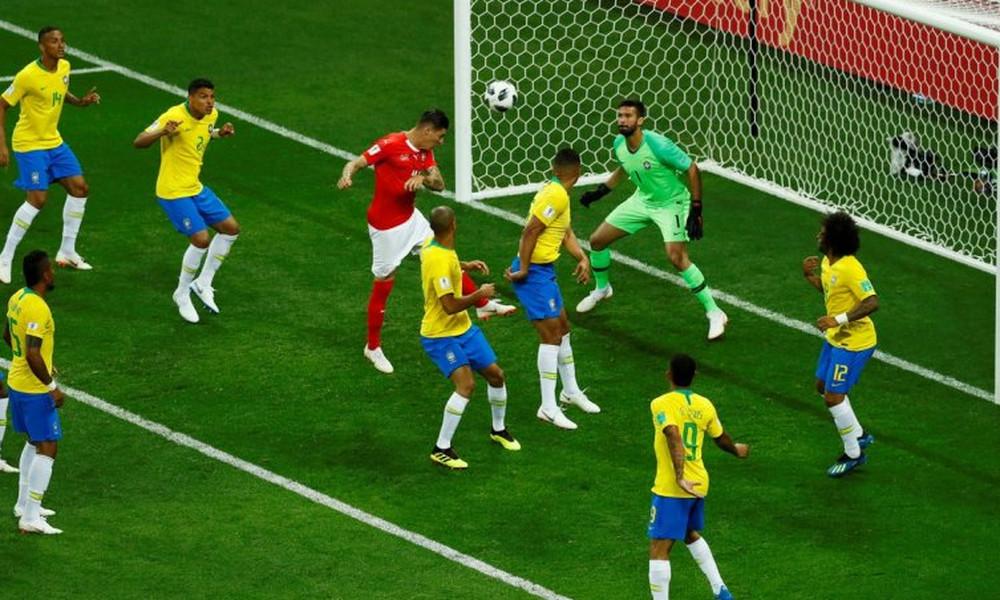 Παγκόσμιο Κύπελλο Ποδοσφαίρου 2018: Ικανοποιημένη η FIFA από τη διαιτησία στο ματς Βραζιλία-Ελβετία