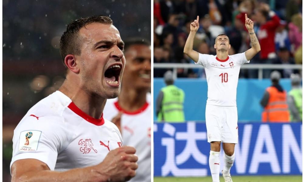 Παγκόσμιο Κύπελλο Ποδοσφαίρου 2018: Η απάντηση Τζάκα και Σακίρι για τον «αλβανικό αετό»