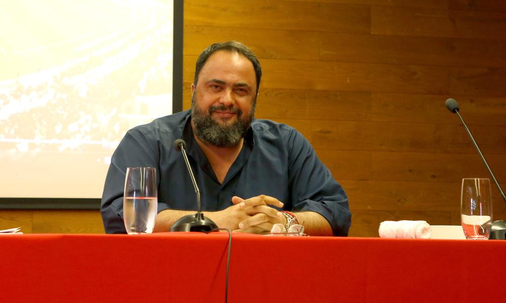 Μαρινάκης: «Όποιος δεν πονάει τη φανέλα δεν έχει θέση στον Ολυμπιακό»