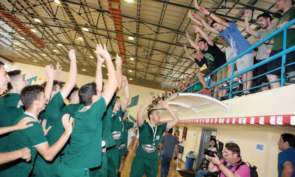 Πανελλήνιο Παίδων: Η απονομή στον πρωταθλητή Παναθηναϊκό (photos)