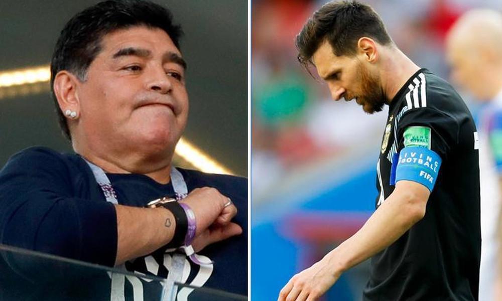 Παγκόσμιο Κύπελλο Ποδοσφαίρου 2018: Νέα «ασπίδα» Μαραντόνα σε Μέσι