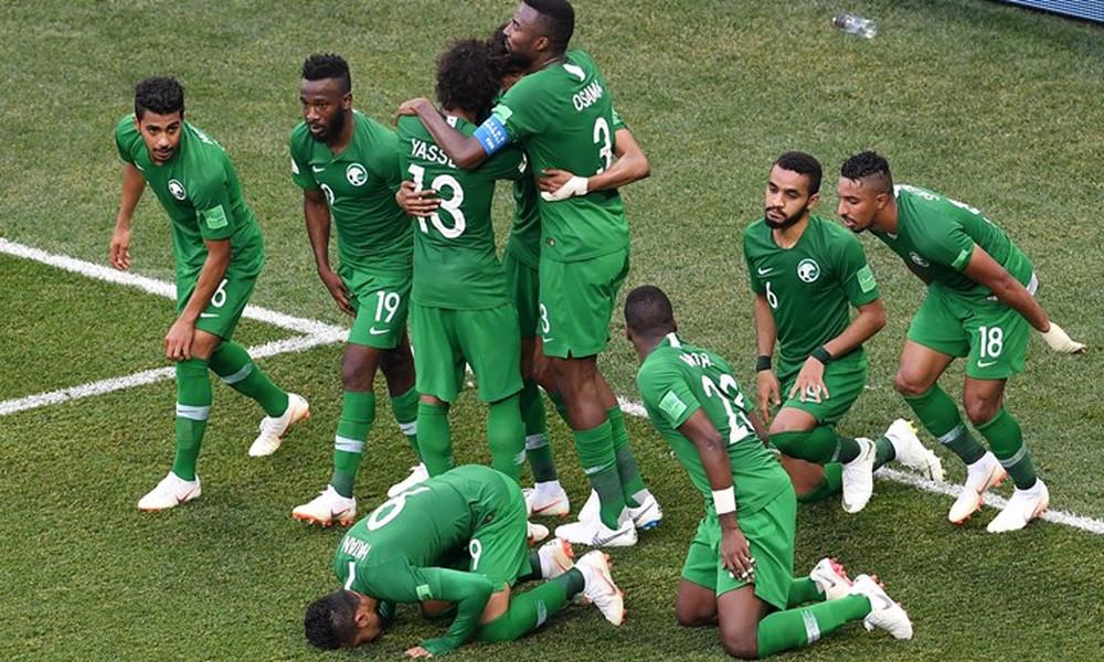 Παγκόσμιο Κύπελλο Ποδοσφαίρου 2018: Σαουδική Αραβία-Αίγυπτος 2-1 (photos)