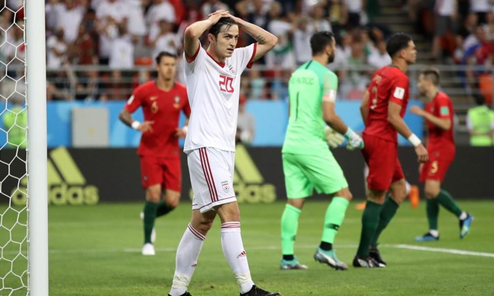 Παγκόσμιο Κύπελλο Ποδοσφαίρου 2018: Ιράν-Πορτογαλία 1-1