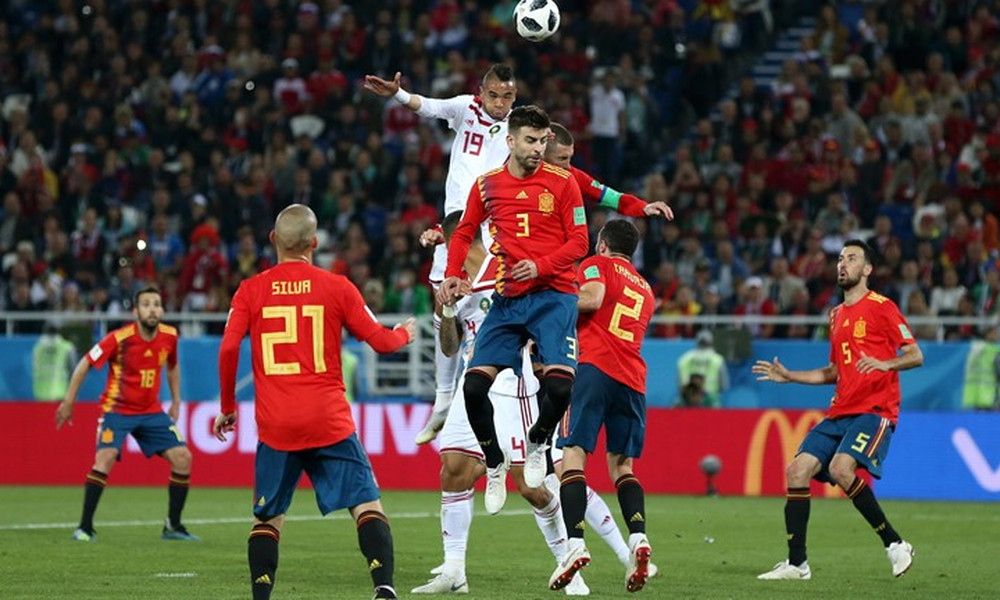 Παγκόσμιο Κύπελλο Ποδοσφαίρου 2018: Ισπανία-Μαρόκο 2-2