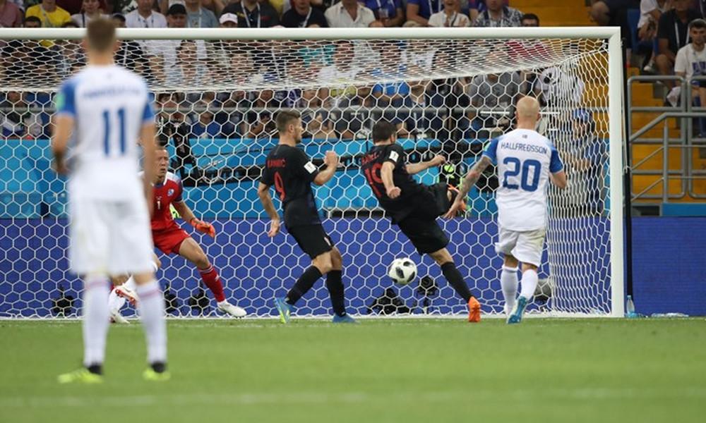 Παγκόσμιο Κύπελλο Ποδοσφαίρου 2018: Ισλανδία-Κροατία 1-2 (photos)