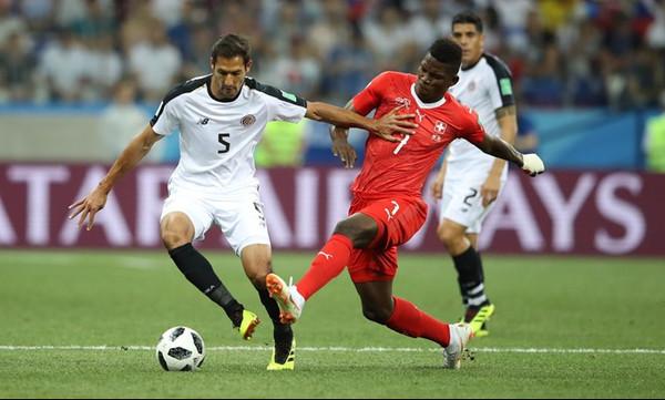 Παγκόσμιο Κύπελλο Ποδοσφαίρου 2018: Ελβετία-Κόστα Ρίκα 2-2