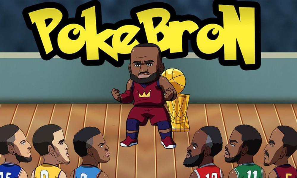 Σε αυτό το παιχνίδι Pokemon πρέπει να «πιάσεις» τον LeBron