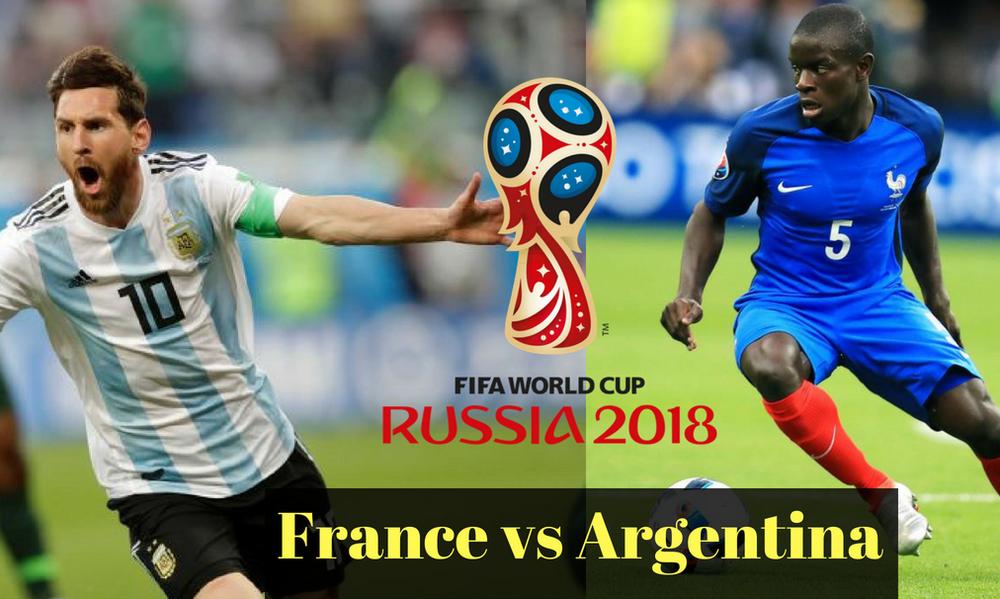 Παγκόσμιο Κύπελλο Ποδοσφαίρου 2018: «Τιτανομαχία» Γαλλίας-Αργεντινής με φόντο τα προημιτελικά