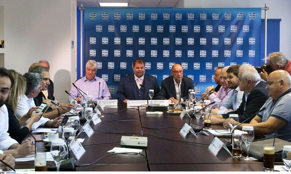 Απορρίφθηκε η πρόταση Βασιλειάδη, με 14 ομάδες τη σεζόν 2019-2020