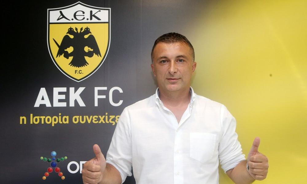ΑΕΚ: Αθλητικός διευθυντής ο Ματιάσεβιτς