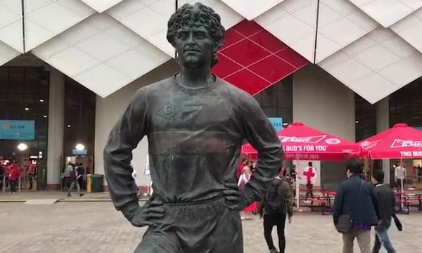 Παγκόσμιο Κύπελλο Ποδοσφαίρου 2018: Βανδάλισαν το άγαλμα του Τσερενκόφ (photos)